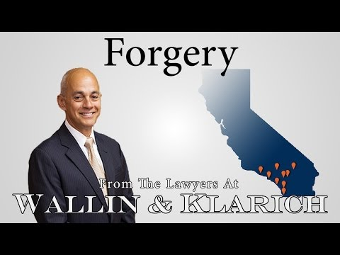 Forgery PC 470