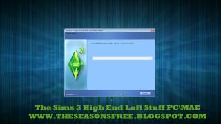 The Sims 3 High End Loft Stuff Free Download PC\MAC Full Game