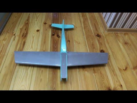 Авиамоделирование или как сделать самолет своими руками (3 часть Крыло)