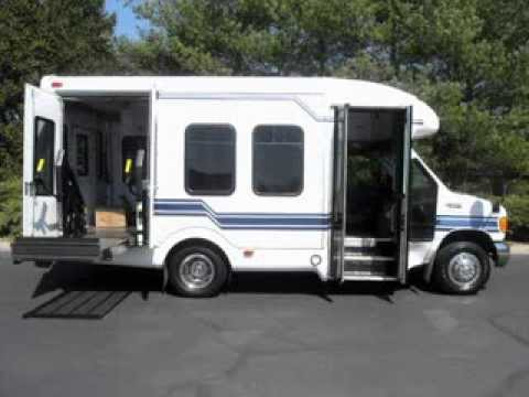 2005 Ford E 350 Wheelchair Shuttle Bus Non Cdl For Sale Youtube