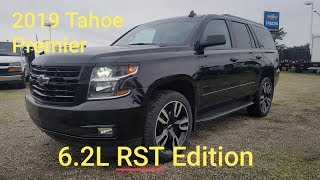 2019 Chevy TAHOE Premier RST 6.2L PERFORMANCE EDITION 4x4 - FULL WALK AROUND REVIEW
