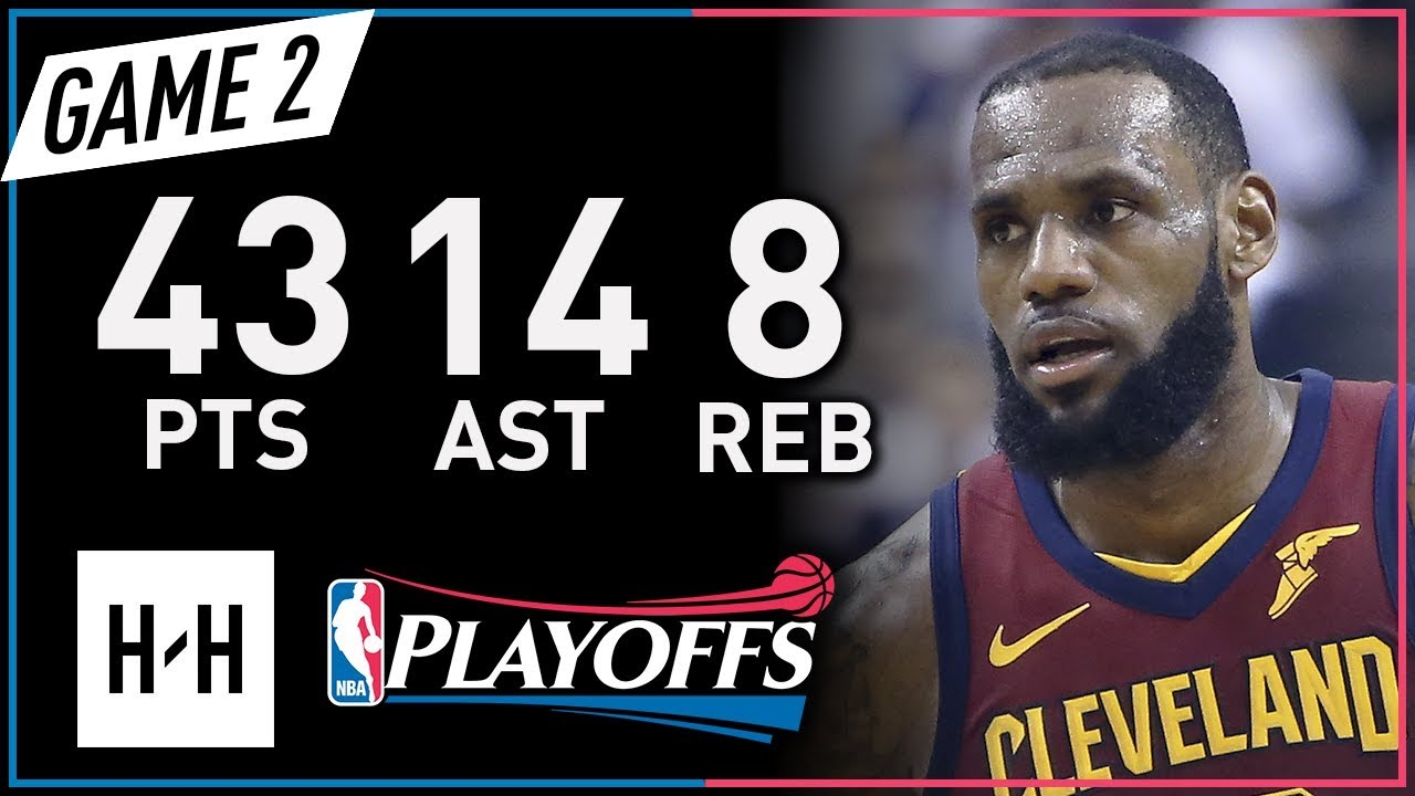 LeBron James EPIC Full Game 2 Highlights vs Raptors 2018 NBA Playoffs - 43 Pts, 14 Ast, MVP Mode!
