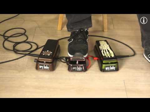 JIM DUNLOP Signature Jerry Cantrell / Slash / Kirk Hammett - pédales effets Wah