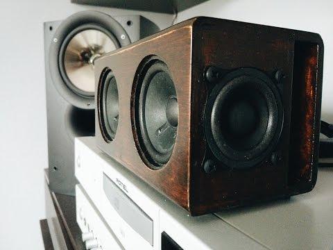 Diy Bluetooth Speaker Build Visaton Tda7492p 2x20w