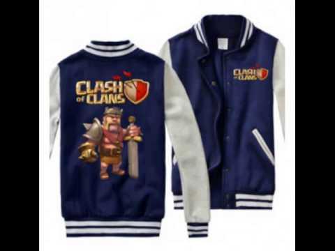 COC Clash of Clans Baseball Jacket