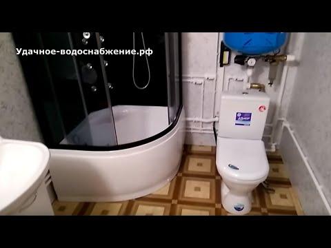 Разводка воды в частном доме.