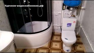 Зимнее водоснабжение частного дома из колодца в Чехове