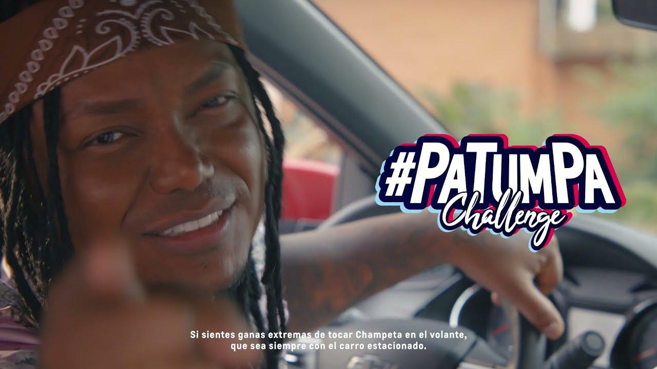 #PaTumPaChallenge - Un featuring de Chevrolet con @Mrblackelpresidente que no es una canción.