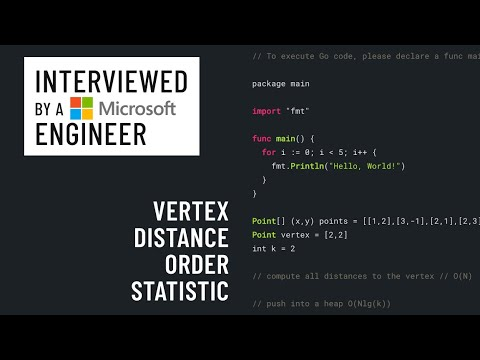 Technical interview with a Microsoft engineer