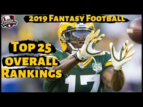 2019 Fantasy Football Rankings - Top 25 Overall Fantasy Football Rankings