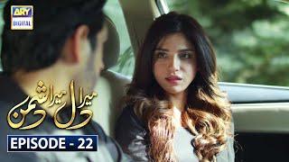 Mera Dil Mera Dushman Episode 22 | 19th March 2020 | Ary Digital Drama