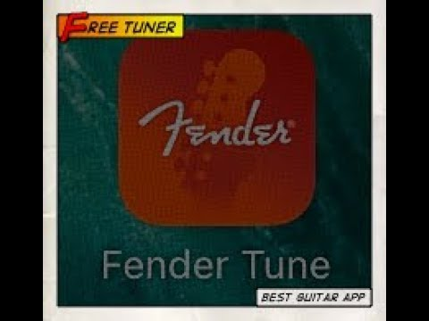 Fender Tune App Tuning App Youtube