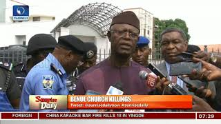 Benue Church killings: Analysts Ask Govt To Live Up To It's Billings,Call For Reforms Pt.1