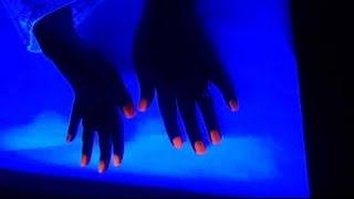 DIY Esmalte que brilla en la oscuridad