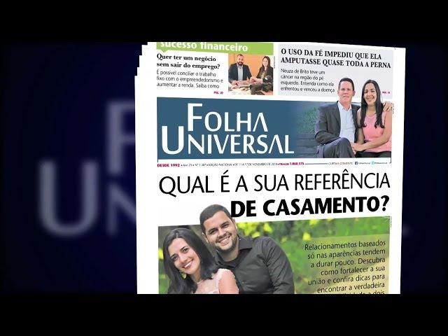 Folha Universal, edição nº 1387, de 11 a 18/11/2018