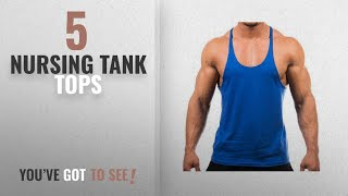Top 10 Nursing Tank Tops [Winter 2018 ]: Mens Sport Stringer Tank Top by YAKER in your choice of