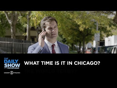 Download Youtube: Exclusive - What Time Is It in Chicago?: The Daily Show