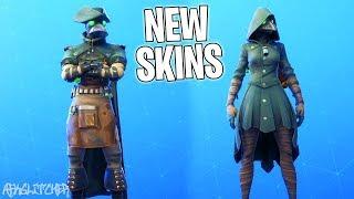 """NEW SKINS """"PESTE"""" - """"FLÉAU"""" (New Grim Medicine Skins)! Fortnite Battle Royale"""