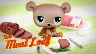 diy how to make doll food meatloaf   ground beef   mashed potatoes handmade doll crafts