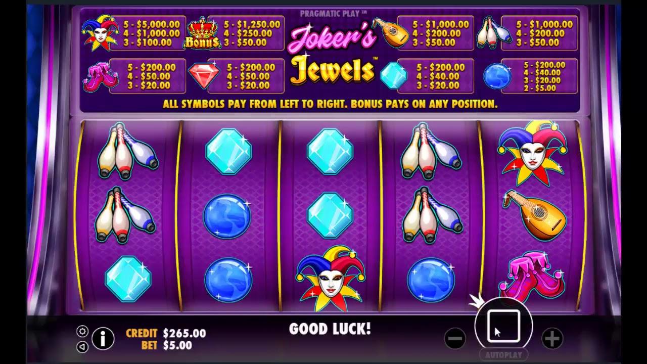 Cara Main Dan Menang Di Game Joker S Jewels Slot Machine Youtube