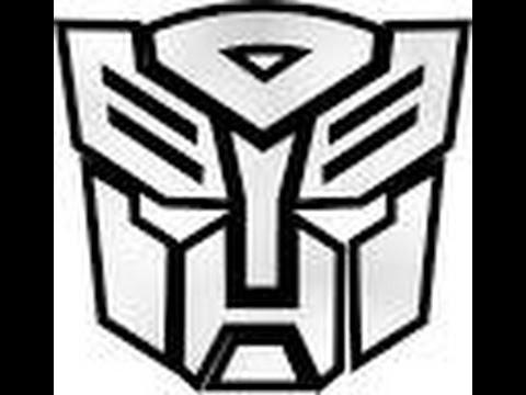 Minecraft Autobot Symbol Pixel Art Youtube