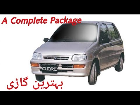 Daihatsu Cuore detailed review.
