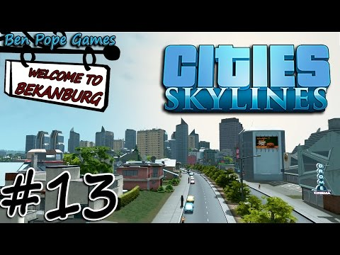 Cities: Skylines - #13 First Person View & British Police Box - (Interactive Let's Play)