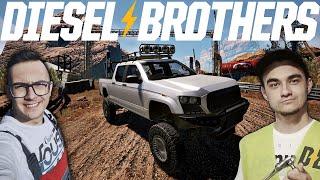 Piaskownica i Wyścig !☠ Warsztat Braci Pierdollins! ✔ Diesel Brothers [#9] ✔MafiaSolecTeam