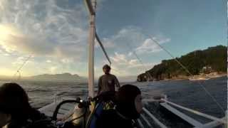 GoPro Hero3 Black edition Night dive Philippines
