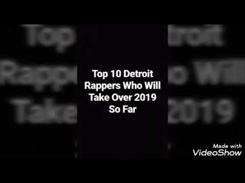 Top 10 Detroit Rappers Whose Next To Blow Up In 2019