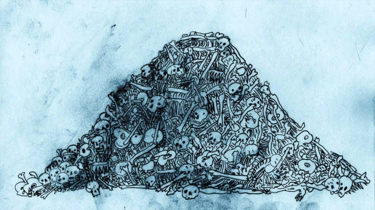 pile of bones - HD1024×794