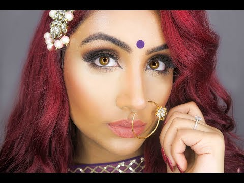 Indian | South Asian Makeup Tutorial - My Engagement Look