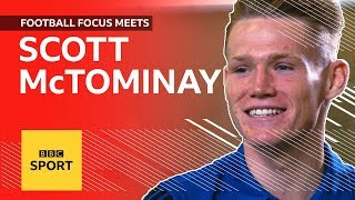 Man Utds Scott McTominay Plays Two Touch Talks Chelsea Win And PES  Football Focus  BBC Sport