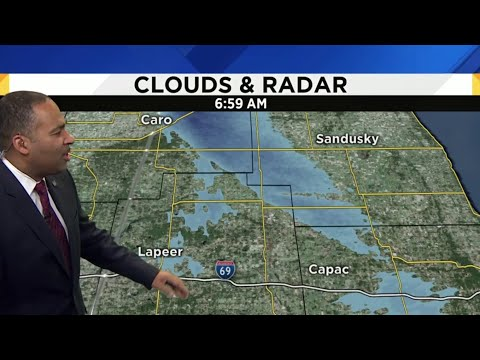 Metro Detroit Weather Forecast: Mostly Cloudy, Cold Sunday