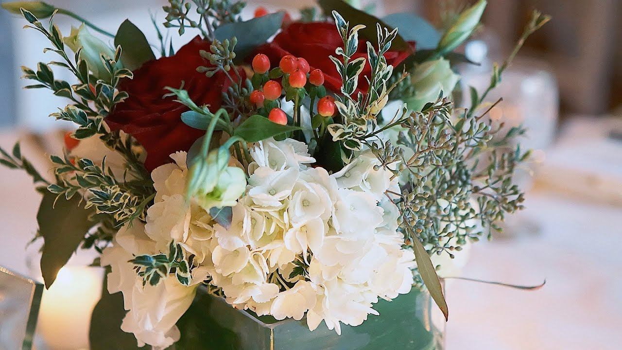 8 Winter Wedding Flower Tips | Wedding Flowers - YouTube