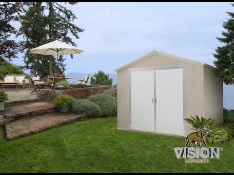 Vinyl Outdoor Shed
