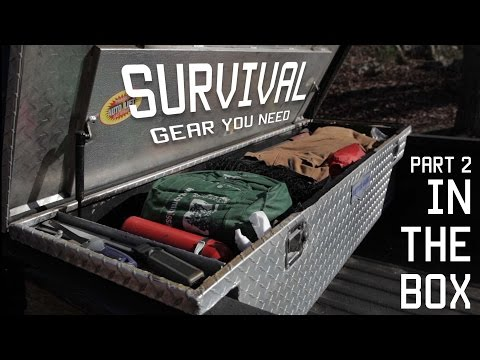 Survival Gear | Gear you need in your cargo box / toolbox | Part 2 | Tactical Rifleman