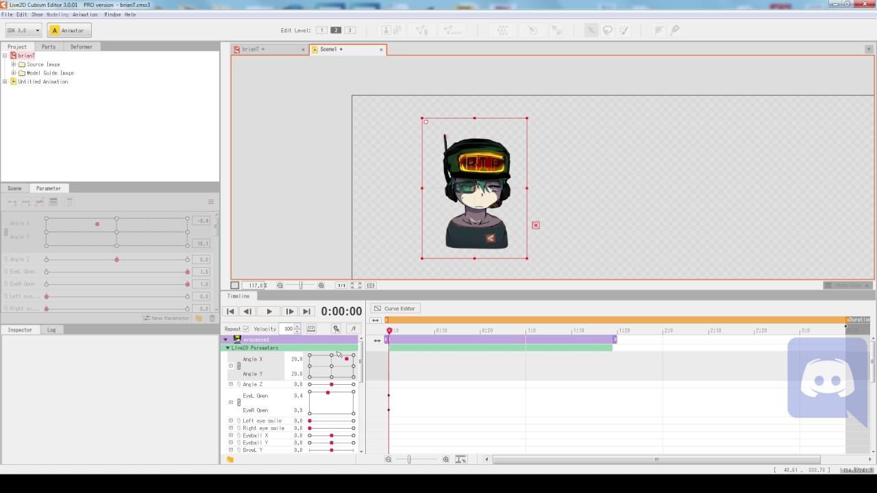 Live2D Cubism 3 Crash Course Ep 01 - Workstation Basics: Tabs and Palettes