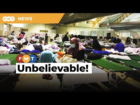 Covid-19: Deplorable conditions at MAEPS quarantine centre