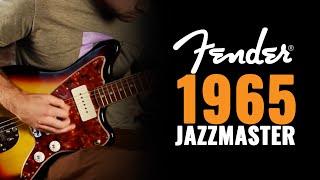 Fender 1965 Jazzmaster Original Vintage Issue Three Tone Sunburst