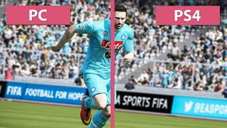 FIFA 15 - PC vs. PS4 Graphics Comparison