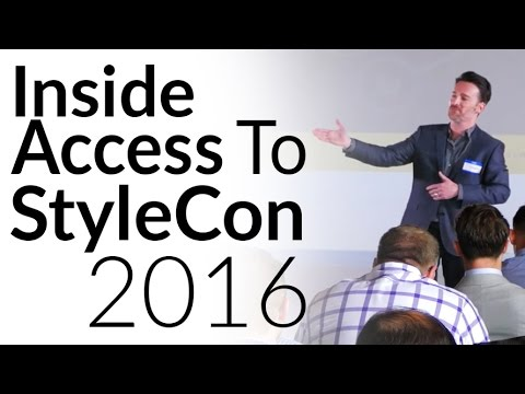 Insider Access To StyleCon 2016 | Highlights of Best Speeches | StyleCon 2017 Tickets Now OPEN