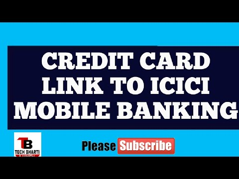 How To Credit Card Link To Icici Mobile App