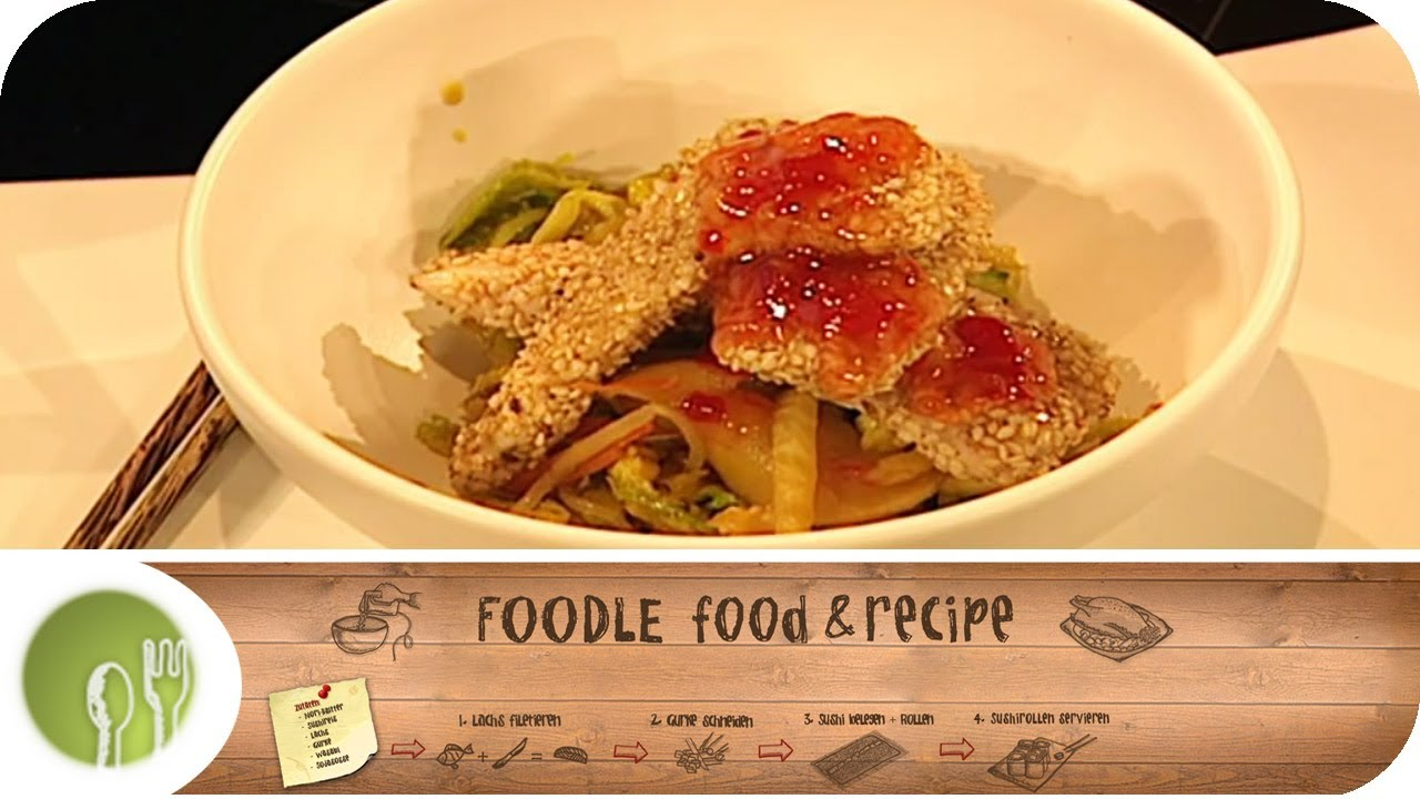 kochen mit dem wok tipps und tricks i foodle food recipe youtube. Black Bedroom Furniture Sets. Home Design Ideas