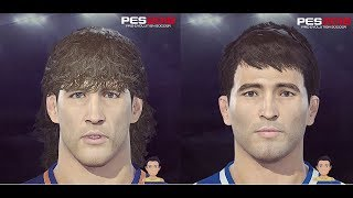 Deco & Carles Puyol PES 2018 **2 Face Special** Face Build