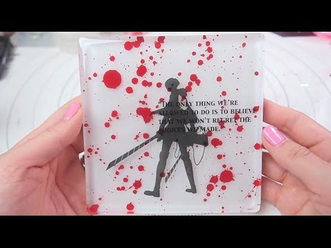 Time-Lapsed: Attack on Titan: LEVI ACKERMAN Tile (fail)