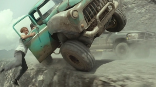 monster truck final chase scene in reverse