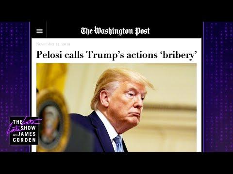 Today&39;s Impeachment Word of the Day: Bribery