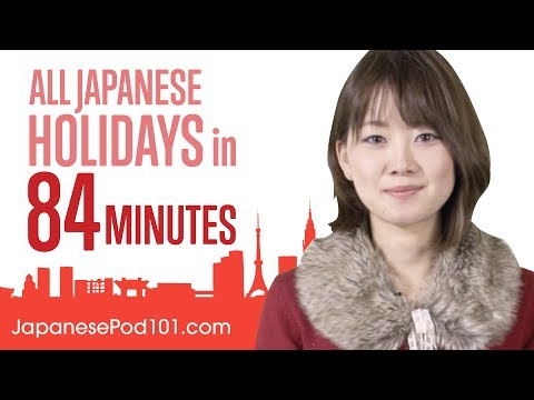Learn ALL Japanese Holidays in 84 Minutes