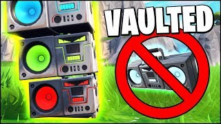 *NEW* ALL BOOMBOX GLITCHES IN FORTNITE (VAULTED ALREADY)